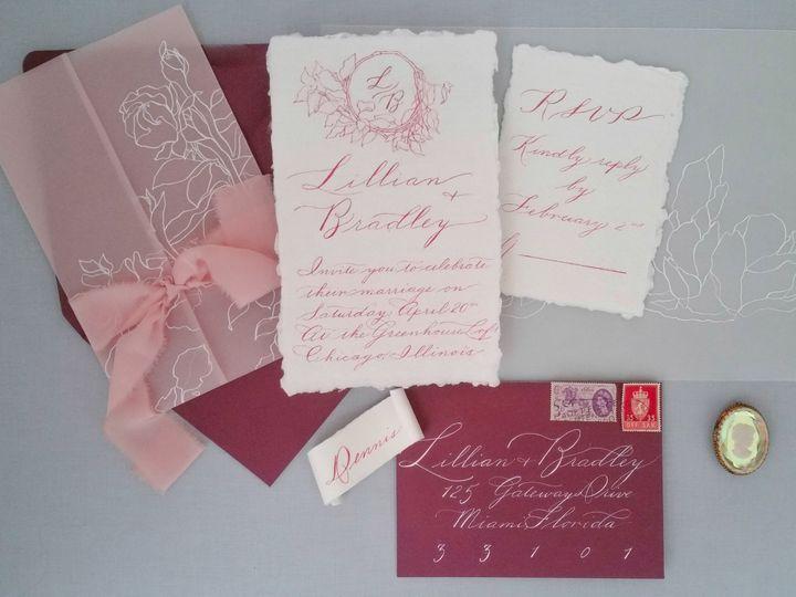 Tmx Redsuite Redo 3 51 310128 Milwaukee, WI wedding invitation