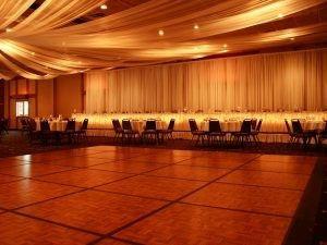 Dance floor in Ballroom