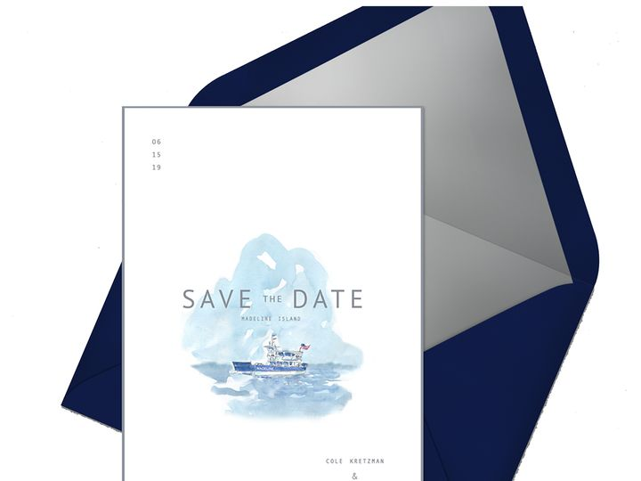 Tmx Matisse Save Flatlay Envelope 51 921128 1563664255 Minneapolis, MN wedding invitation