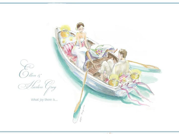 Tmx Rowboatbride Knot 51 921128 Minneapolis, MN wedding invitation