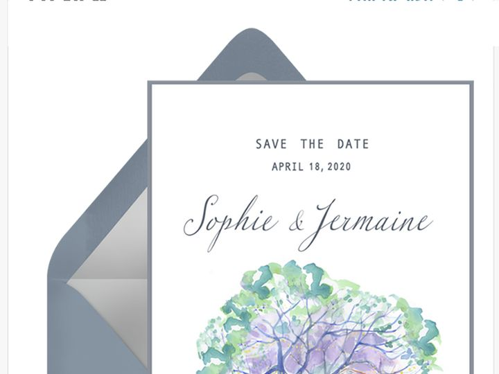 Tmx Sophi Save Envelope 51 921128 1563664239 Minneapolis, MN wedding invitation