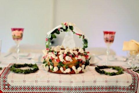 Korovai and wreaths