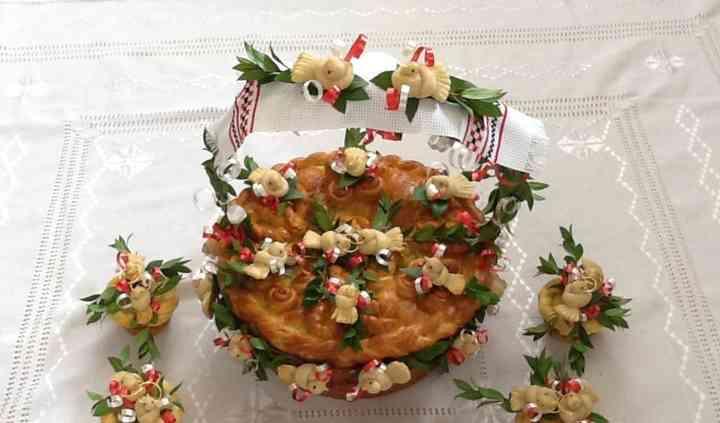 Korovai - Ukrainian Wedding Bread