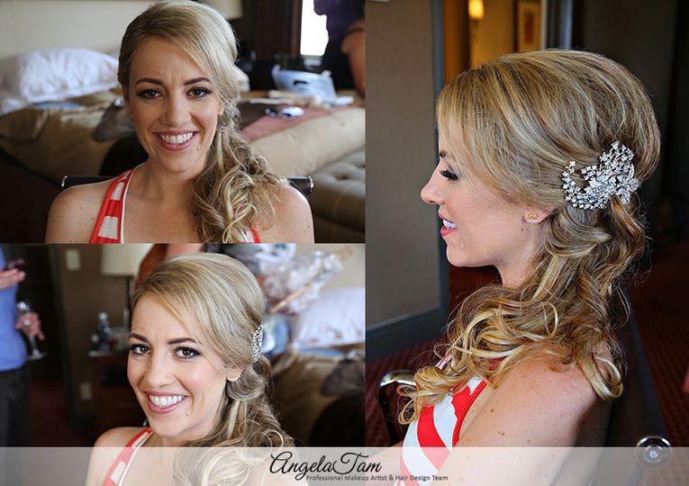 Angela Tam - Celebrity & Wedding Makeup Artist & Hair Stylist Team ...