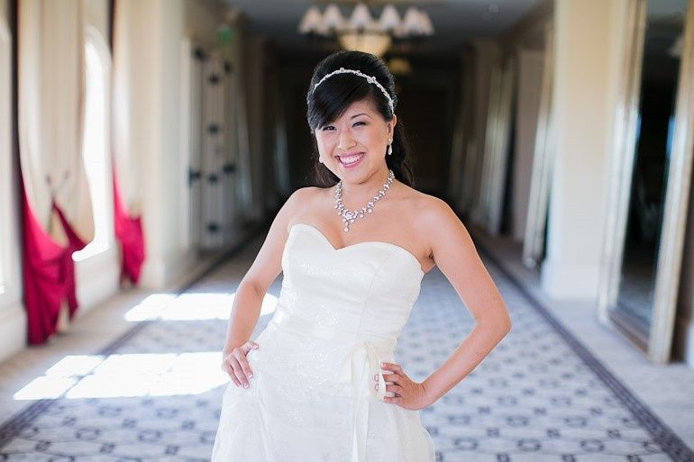 Asian Bride Makeup & Hair 12