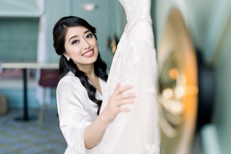 Blushing Bridal Makeup
