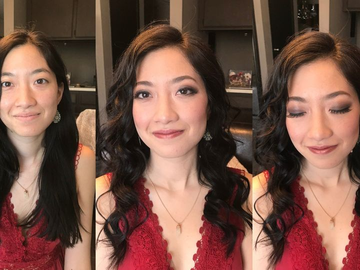 Tmx 13 Asian Hooded Smokey Smoky Dramtic Eye Eyes Makeup Artist Curls Down Hair Style Bridal Bride Makeup Artist Hair Stylis 1 51 73128 1565833374 South Pasadena, CA wedding beauty