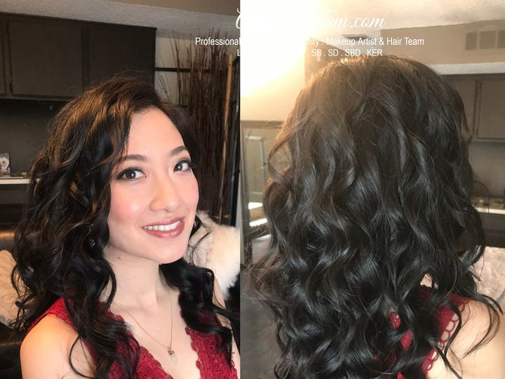 Tmx 13 Asian Hooded Smokey Smoky Dramtic Eye Eyes Makeup Artist Curls Down Hair Style Bridal Bride Makeup Artist Hair Stylis 2 51 73128 1565833374 South Pasadena, CA wedding beauty