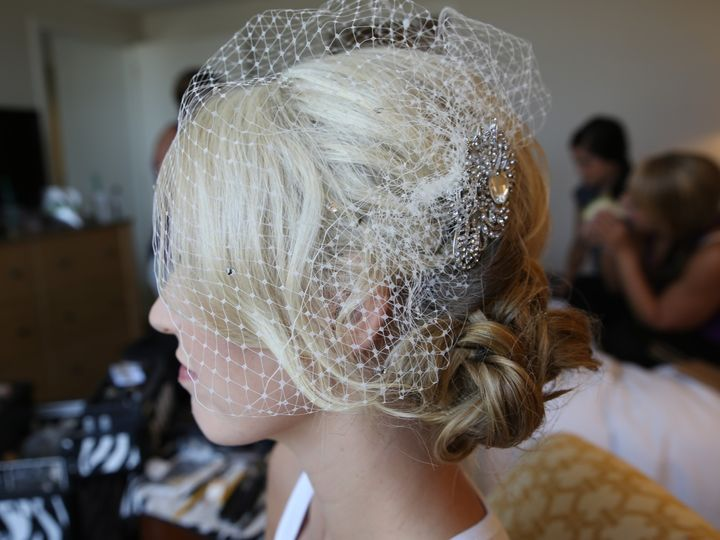 Tmx 17 Hilton Glendale Wedding Caucasian Vintage Gastby Birdcage Veil Updo Retro 1920s Smokey Makeup Arti 3 1 51 73128 1565836997 South Pasadena, CA wedding beauty