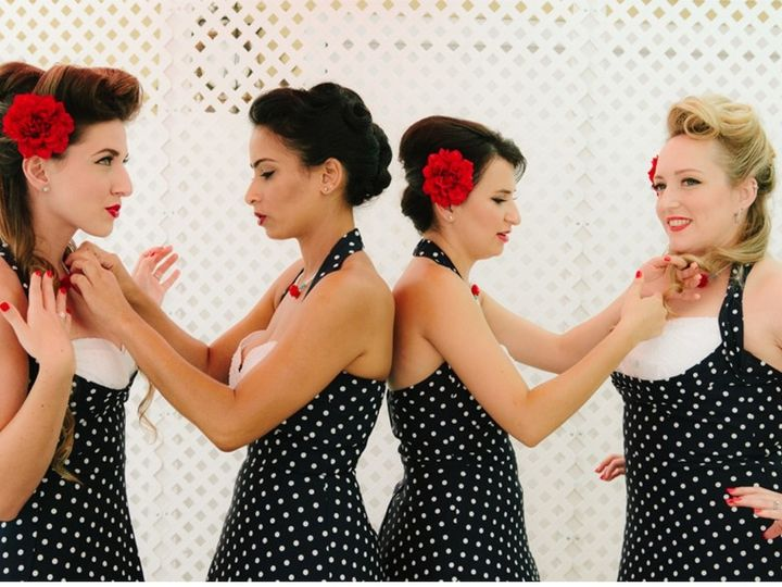 Tmx 4 Los Angeles Vintage Sexy Pin Up Rockabilly Girls Retro Wedding Makeup Artist Hair Stylist Style 2 51 73128 1565824865 South Pasadena, CA wedding beauty