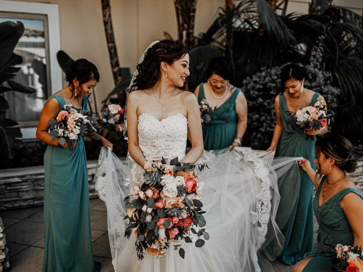 Tmx Christine Francis Wedding Hilton San Gabriel Asian Bridal Bridesmaid Makeup Artist Hair Stylist Angela Tam Team Smokey Dramatic Eyes Half Up Hair 12 5 51 73128 158795811051870 South Pasadena, CA wedding beauty