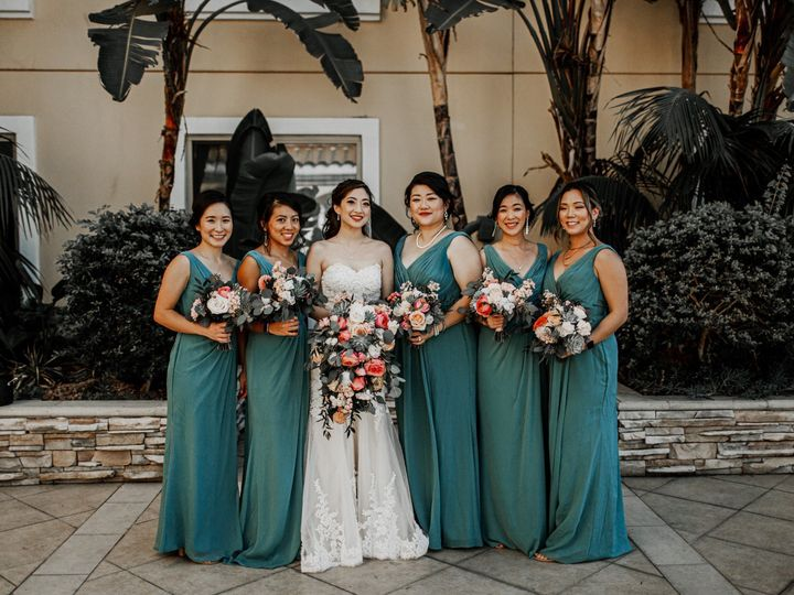 Tmx Christine Francis Wedding Hilton San Gabriel Asian Bridal Bridesmaid Makeup Artist Hair Stylist Angela Tam Team Smokey Dramatic Eyes Half Up Hair Style 12 3 51 73128 158795811142813 South Pasadena, CA wedding beauty