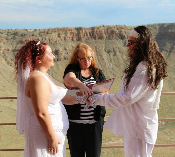 Wedding Aug/2014 Meteor Crater, Arizona