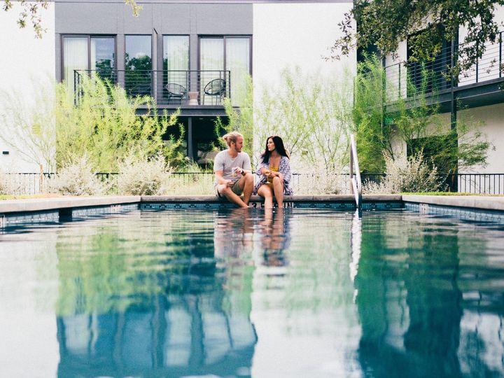 Tmx Ruby Pool Couple Getting Feet Wet 51 1054128 159260249876839 Round Rock, TX wedding venue