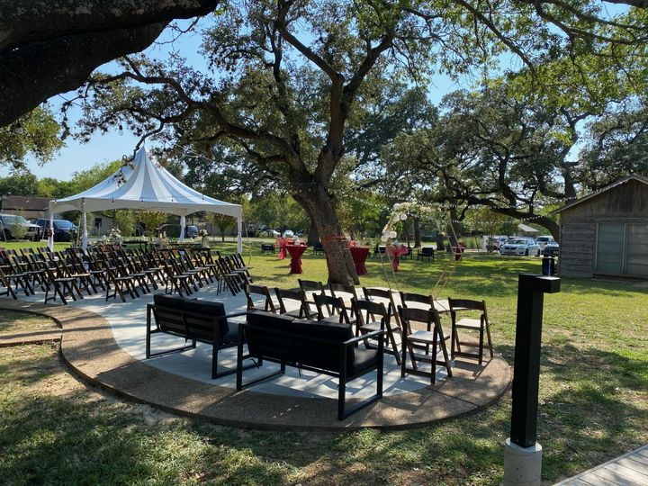 Tmx Set Up With Stargazer Style Tent1 51 1054128 160771267147854 Round Rock, TX wedding venue