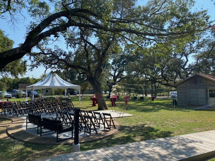 Tmx Set Up With Stargazer Style Tent2 51 1054128 160771267187591 Round Rock, TX wedding venue