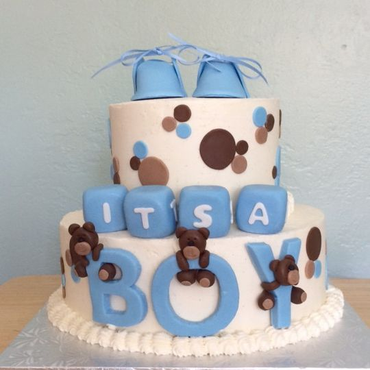 custom baby shower cake