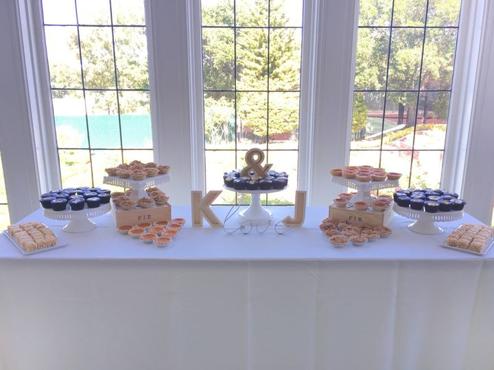 mg custom dessert table