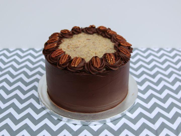 Tmx 1442200232065 Mg German Chocolate Daly City wedding cake