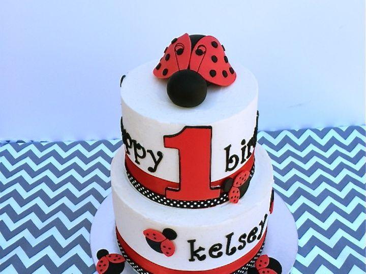 Tmx 1465407663230 Mg Custom Tiered Cake Daly City wedding cake