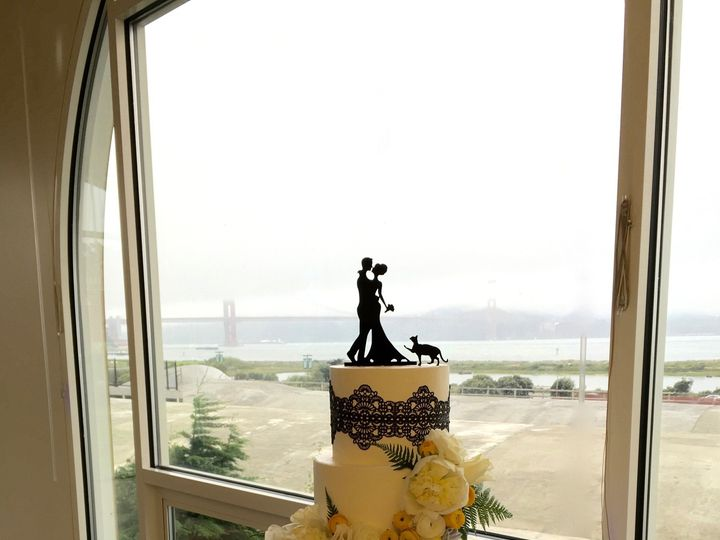 Tmx 1465407766411 Mg Cake Laceflowers Wedding Cake Daly City wedding cake