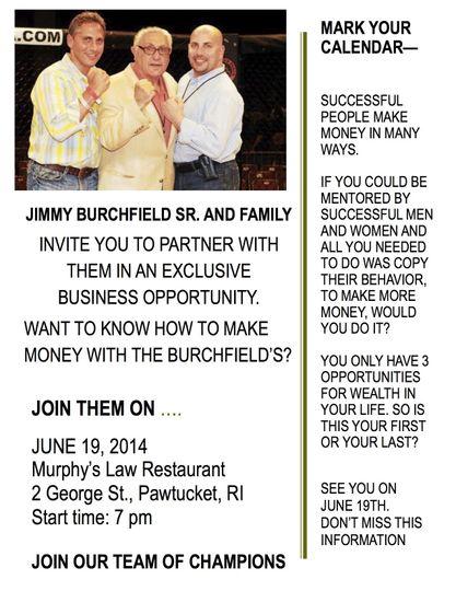 burchfield event flyer