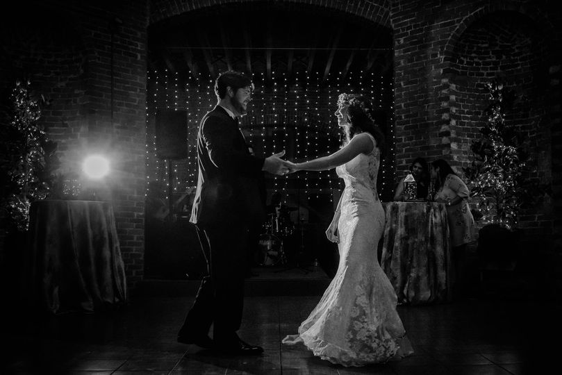 First dance of the newlyweds