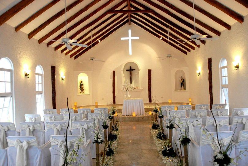beautiful wedding chapel at el dorado royale a spa