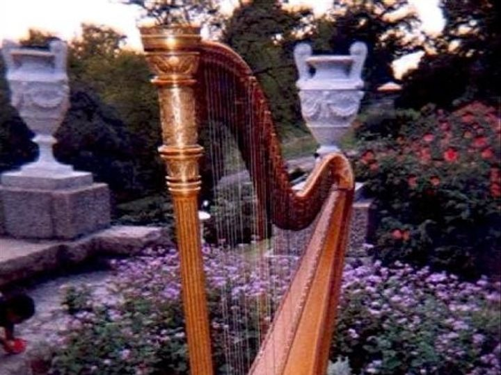 Tmx 1405124172170 Harp Italiangardensmaymont Richmond, VA wedding ceremonymusic