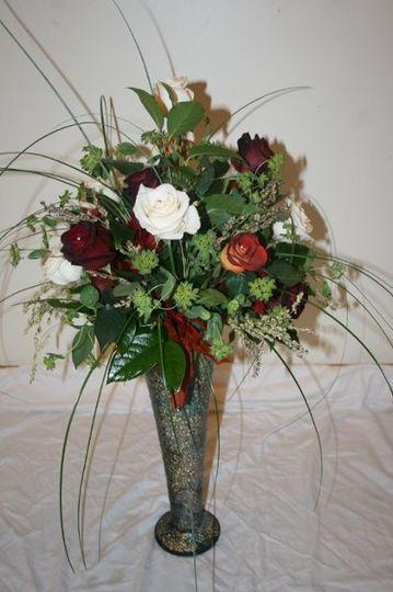 Elegant Reception Flowers