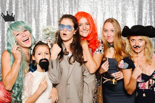 Ask about our photo booth services!