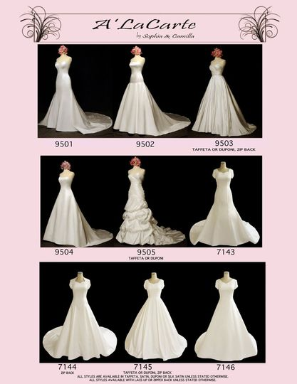 Bellisima offers a wide arrange of modest gowns in a variety of fabrics and styles, and all...