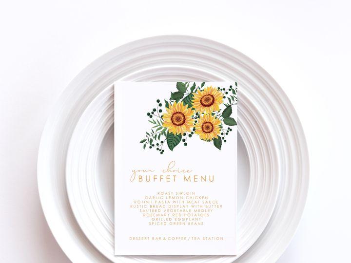 Tmx Menu Card Sample 4a 51 1002228 159285229697119 Buffalo, NY wedding invitation