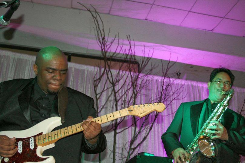 The Rare Mixx Band's guitarist