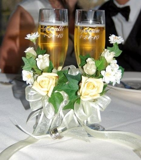 Tmx 1417636750516 Engraved Flutes  Flowers Sparks wedding florist
