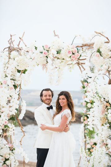 Mykonos Beach Wedding