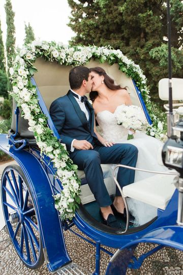 Spetses Island wedding