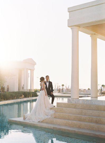Amanzoe wedding