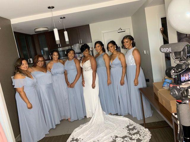Bride & her bride tribe