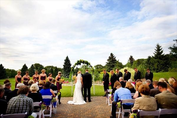 Outdoor Ceremony at Midland Hills