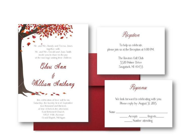 Tmx 1377520121821 Slide2 Grand Rapids wedding invitation