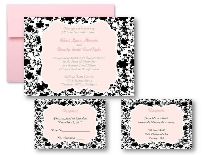 Tmx 1377520126211 Slide4 Grand Rapids wedding invitation