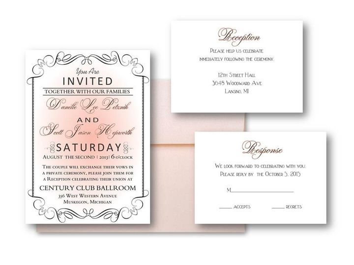 Tmx 1377520134035 Slide8 Grand Rapids wedding invitation