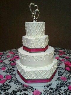 Pentagon cake
