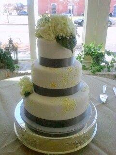 Silver linings cake
