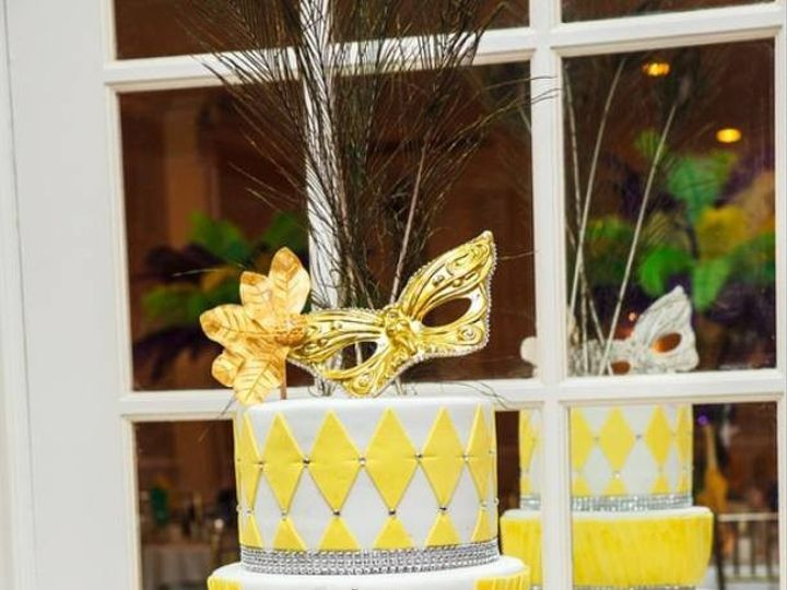 Tmx 1444676396671 Masquerade Bloomfield wedding cake