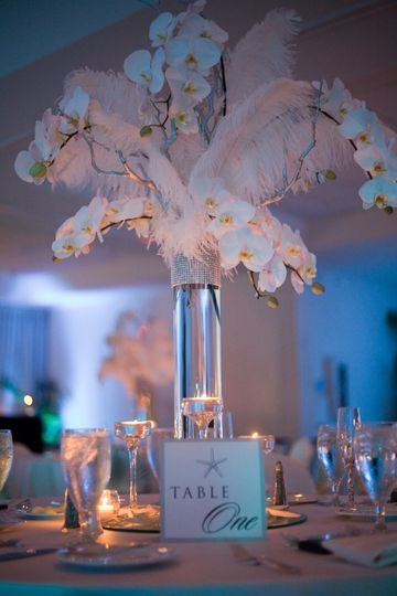 800x800 1343139531537 whiteorchidfeathercenterpiece
