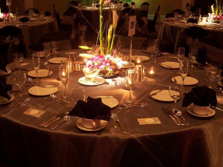 Tmx 1343139440629 OrchidPlatinumCenterPiecePinSpot Naples wedding venue