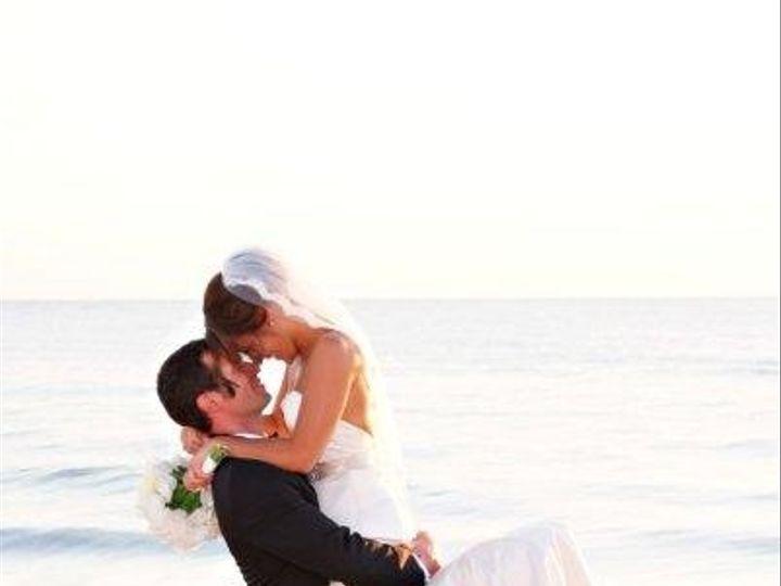 Tmx 1443792478353 Bride And Groom By Rocks With Logo Naples wedding venue