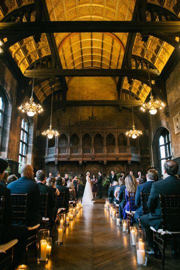 Highline hotel wed ceremony